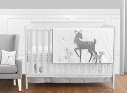 Baby Deer Crib Bedding 11pc Crib Bedding Set For The Forest Deer Collection By Sweet Jojo
