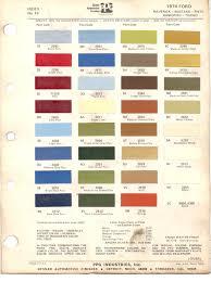 paint chips 1974 ford maverick mustang pinto rachero torino