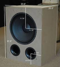 Diy Bass Cabinet Best 25 Subwoofer Box Design Ideas On Pinterest Car Audio Diy