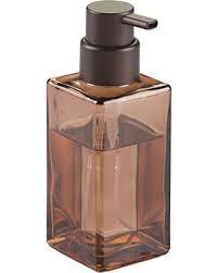 Modern Bathroom Soap Dispenser by Amazing Deal Interdesign Casilla Glass Foaming Soap Dispenser