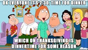 Family Guy Meme - family guy summing up my views on thanksgiving meme guy