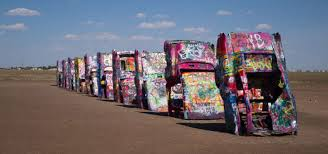 cadillac ranch amarillo roadtrippers