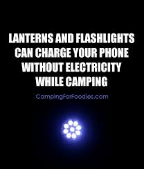 Charge Your Phone How To Charge Your Phone Without Electricity While Camping