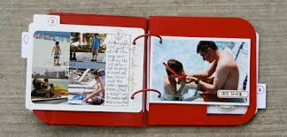 travel photo album ali edwards design inc travel album july cocoa kit