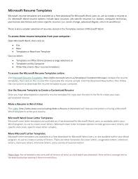 free resume word templates resume word template free resume template for web developers word