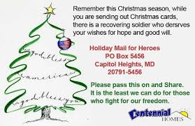 where to send cards to soldiers talkinggames