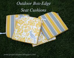 Diy Patio Cushions Running With Scissors Tutorial Outdoor Patio Seat Cushions