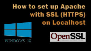 https how how to set up apache with ssl https on localhost youtube