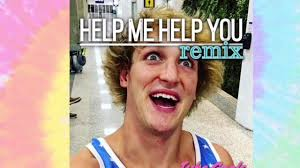 Help Me Help You Meme - help me help you logan paul remix tube goals youtube