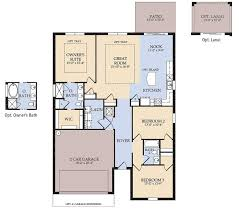 First Home Builders Of Florida Floor Plans Rosemont New Home Plan Brooksville Fl Pulte Homes New Home