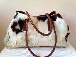 Hair On Cowhide Purse Brown And White Cow Skin Shoulder Bag 2541243 Weddbook