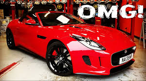 jaguar f type custom customizing my jaguar f type youtube