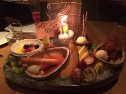 roka cuisine birthday dessert platter picture of roka aldwych tripadvisor
