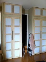 Frosted Closet Sliding Doors Sliding Door Closets Sliding Closet Door Makeover Cool Sliding