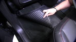 review of the weathertech all weather rear floor mats on a 2013