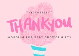 baby shower thank you notes free wording exles