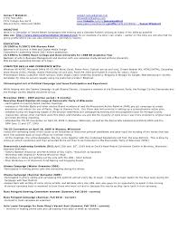 Job History Resume by Jim Waisbrot New Political Resume 2010