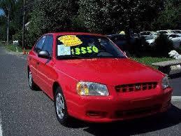 2002 hyundai accent sedan 2002 hyundai accent gl 4dr sedan in hainesport nj motor pool