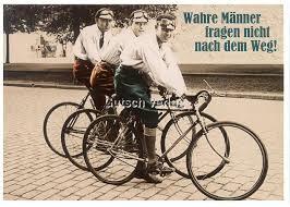 sprüche fahrrad lustige sprüche postkarte männer fragen nicht nach dem weg