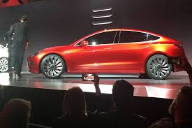 tesla u0027s model 3 electric car gets requests for 180 000 vehicles on