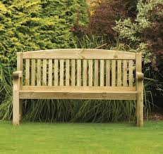 athol 5ft foot heavy duty wooden garden bench ebay