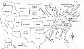 printable usa map geography united states outline maps