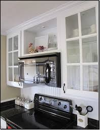 Open Cabinets Best 25 Microwave Above Stove Ideas On Pinterest Built In