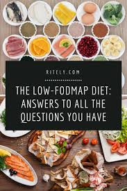 Food Map Diet Low Fodmap Diet Answers To All The Questions You Have