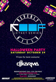 roof jetset series beverly hills 90s halloween party roof