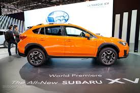 subaru orange crosstrek 2016 subaru xv crosstrek special edition gets pure red exterior