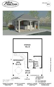 Blueprints For Small Houses by Best 20 Pool House Plans Ideas On Pinterest Small Guest Houses