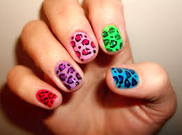 leopard print nail art step by step mailevel net