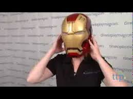 Iron Patriot Halloween Costume Marvel Iron Man 3 Mark 42 Helmet Disguise