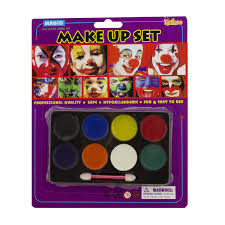 face body paint oil painting art makeup set halloween party lot