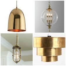 Brass Light Gallery by Fresh Brass Ceiling Light 43 For Dining Room Pendant Lights With
