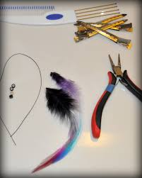 Beaded Hair Extension by Diy Feather Hair Extensions U2013 No Special Tools Required