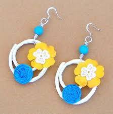 earrings paper summer paper earrings favecrafts