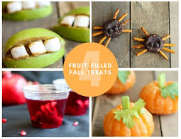 fruit treats four spook tacular fruit filled fall treats festival foods