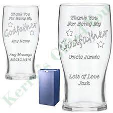 Godmother Wine Glass Godfather Gifts Ebay