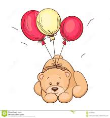 teddy balloons teddy and balloons stock images image 24040954