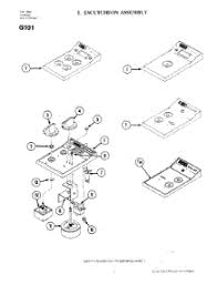 Parts For Jenn Air Cooktop Parts For Jenn Air G101 Cooktop Appliancepartspros Com