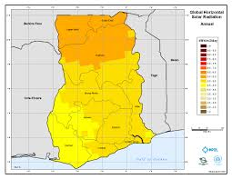 Map Of Ghana Solar Energy U0026 Energy Storage System For A 20 House Community In