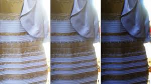 white and gold or black and blue why see the dress