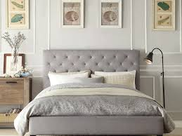 Candiac Upholstered Bedroom Set Bed Ideas Upholstered Tufted King Bed In Cream For Interesting