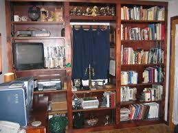 bookshelf wall home decor
