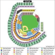 Dodger Stadium Parking Map Citi Field New York Mets Ballpark Ballparks Of Baseball