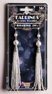 20 s earrings roaring 20 s flapper tassel earrings candy apple costumes new