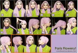 tutorial hijab paris ke pesta new tutorial hijab berkebaya