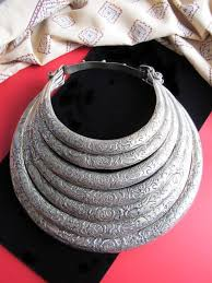 neck ring necklace images Tribal jewelry large torc necklace from hmong hill tribe JPG