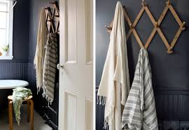 How To Hang Scarves On Curtain Rods by The Styling Secret Of Wall Mounted Hooks Emily Henderson